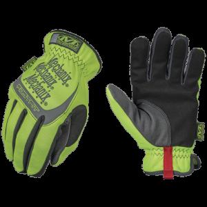 Hi-Viz FastFit® Glove Size: X-Large Color: Yellow