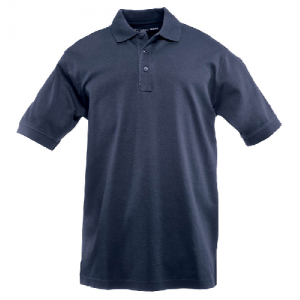5.11 Tactical Tactical Men's Short Sleeve Polo in Dark Navy - Large