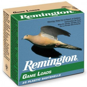 "Remington Game Load .12 Gauge (2.75"") 8 Shot Lead (250-Rounds) - GL128"