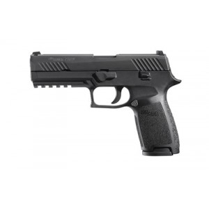 "Sig Sauer P320 Full Size 9mm 10+1 4.7"" Pistol in Black Nitron (Internal Safety System) - 320F9B10"