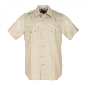 5.11 Tactical PDU Class A Men's Uniform Shirt in Silver Tan - Small