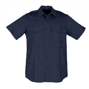 5.11 Tactical PDU Class B Men's Uniform Shirt in Midnight Navy - Large
