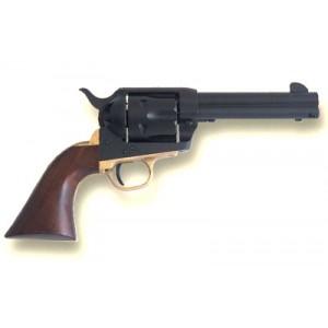 "Cimarron Big Iron .45 Long Colt 6-Shot 4.75"" Revolver in Black - PP450"
