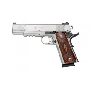 """Smith & Wesson E Series .45 ACP 8+1 5"""" 1911 in Stainless - 108411"""