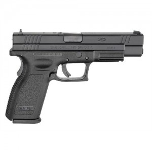 "Springfield XD Tactical .357 Sig Sauer 10+1 5"" Pistol in Black - XD9403SP06"