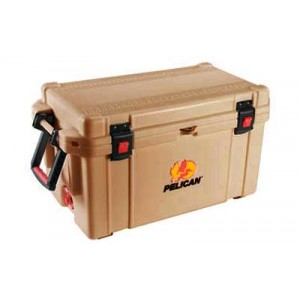 Pelican Progear 65q-mc Elite Cooler, Holds 72.75 Us Quarts, Tan 32-65q-oc-tan