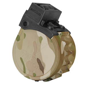 "Adaptive Tactical 00922 Sidewinder Venom Drum Mag 12ga 2.75"" 10rd MultiCam"