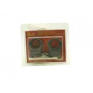 "Target Sports Tactical Ring, High, Adjustable, Matte, 1"" & 30mm Tar80"