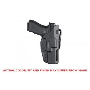 "Safariland 7377 7TS ALS Right-Hand Belt Holster for Glock 17, 22 in STX Plain Black (4"") - 7377-83-411"