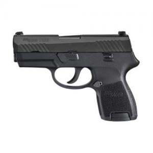 "Sig Sauer P320 SubCompact .40 S&W 10+1 3.6"" Pistol in Black Nitron (SIGLITE Night Sights) - 320SC40BSS"