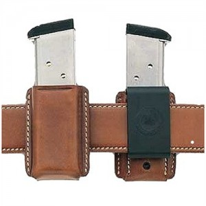 Galco International Magazine Mag Case Snap Single in Tan Smooth Leather - SMC26