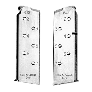 Chip McCormick .45 ACP 7-Round Steel Magazine for Officer 1911 - 14120