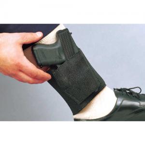Desantis Gunhide Apache Ankle Left-Hand Ankle Holster for Large Automatics in Black - 062BBLAZ0