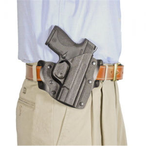 Desantis Gunhide Intimidator 2.0 Right-Hand Belt Holster for Smith & Wesson M&P Shield in Black - 138KAX7Z0