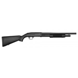 "Mossberg 500 Home Defense .12 Gauge (3"") 6-Round Pump Action Shotgun with 18.5"" Barrel - 52136"