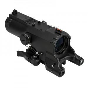 Ncstar - Vism Eco Mod 2 4x34mm Riflescope in Black (Urban Tactical) - VECO434QRB2