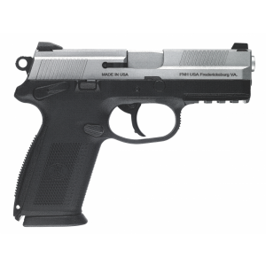 "FN Herstal FNX-40 .40 S&W 10+1 4"" Pistol in Stainless Steel (Manual Safety) - 66876"