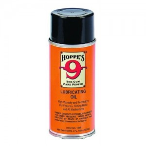 Hoppes Aerosol Lubricating Oil High Viscosity Lubricant 4 Ounce Spray Can - 10 Pack 1605