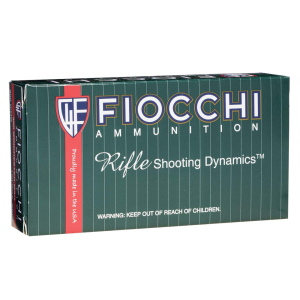 Fiocchi Ammunition .300 AAC Blackout Full Metal Jacket Boat Tail, 150 Grain (50 Rounds) - 300BLKC