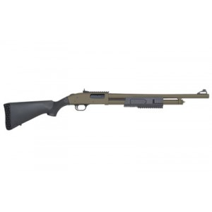 "Mossberg 500 .12 Gauge (3"") 5-Round Pump Action Shotgun with 20"" Barrel - 51673"