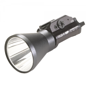 A TLR-1 Weapons Mounted Light Candela: 46000 Tech: Strobe Option Feature: No Remote LED: White