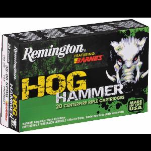 Remington Hog Hammer .308 Winchester/7.62 NATO TSX Boat Tail, 168 Grain (20 Rounds) - PHH308W2