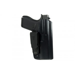 Blade Tech Industries Inside The Waistband Klipt Appendix Holster, Fits S&w Model 642 And Other J-frame Revolvers, Ambidextrous, Black Holx010018605636 - HOLX010018605636