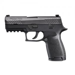 "Sig Sauer P320 Carry 9mm 17+1 3.9"" Pistol in Black Nitron (Internal Safety System) - 320CA9B"