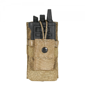 STRIKE Sm Radio/GPS pouch/clip  S.T.R.I.K.E. Small Radio/GPS pouch w/Speed clips, ARPAT, Snap and hook and loop securing tab holds radio or GPS in place.