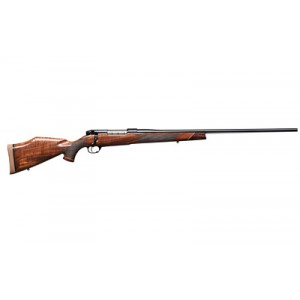 """Weatherby Mark V .300 Weatherby 3-Round 26"""" Bolt Action Rifle in AA Fancy Grade Claro Walnut - MDXM300WR6O"""