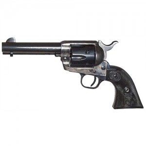 """Colt Single Action Army .38 Special 6-Shot 4.75"""" Revolver in Case Hardened Blue - P1648"""