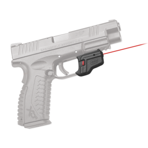 """Crimson DS123 Defender AccuGuard Red Laser Springfield XD/XDM 5mW .50""""@50ft"""