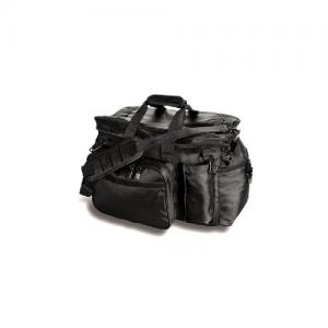 Uncle Mike's Side-Armor Patrol Waterproof Duffel Bag in Black Polyester - 53471