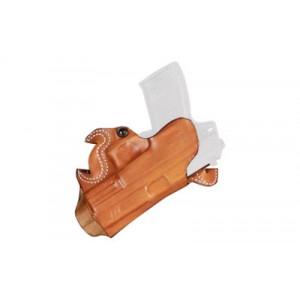 Desantis Gunhide 67 S.O.B. - Small of Back Right-Hand Belt Holster for Glock 26, 27, 33 in Black Leather -