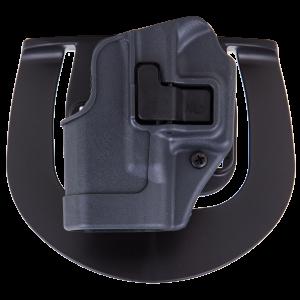 Blackhawk Serpa Sportster Right-Hand Paddle Holster for Glock 26, 27, 33 in Grey - 413501BKR