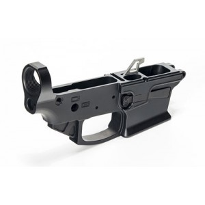 Ke Arms Billet Lower, Semi-automatic, 9mm, For Glock Mags, Black Finish 1-50-01-062
