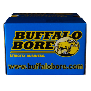 Buffalo Bore Ammunition .45 Automatic Rimfire Hard Cast Flat Nose, 255 Grain (20 Rounds) - 32A/20