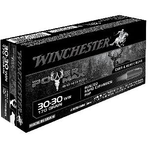 Winchester Super-X .30-30 Winchester Power Max Bonded, 170 Grain (20 Rounds) - X30303BP