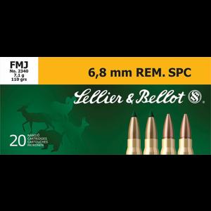 Magtech Ammunition Training 6.8 SPC Full Metal Jacket, 110 Grain (20 Rounds) - SB68C