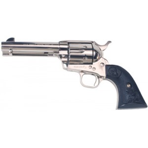 """Colt Single Action Army .45 Colt 6-Shot 5.5"""" Revolver in Nickel (Peacemaker) - P1856"""