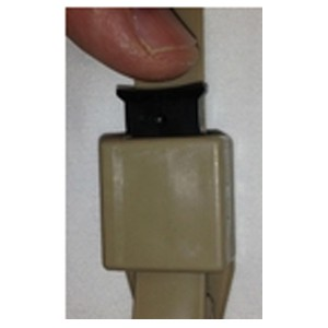 Milspec Plastics Cobra Cuffs - Disposable Restraints (Handcuffs) MS24D-BLK