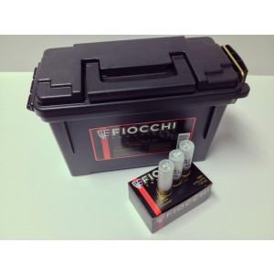 "Fiocchi Ammunition Exacta .12 Gauge (2.75"") 00 Buck Shot Nickel-Plated Lead (80-Rounds) - 12FLE00B"