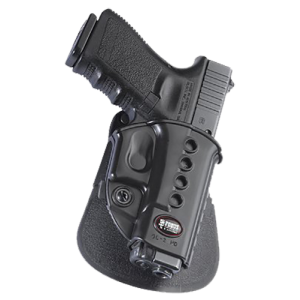 Fobus USA Roto Evolution Right-Hand Paddle Holster for Glock 17, 19, 22, 23, 31, 32, 34, 35 in Black - GL2ERRP
