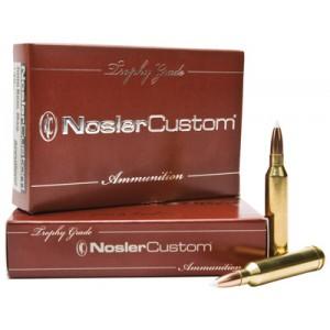 Nosler Bullets Custom Trophy Grade .300 Weatherby Magnum E-Tip Lead-Free, 180 Grain (20 Rounds) - 60068