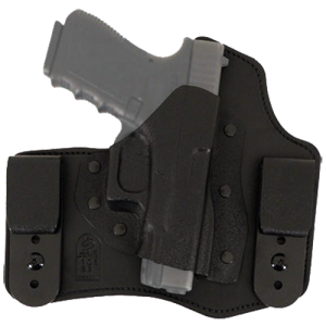 "Desantis Gunhide Intruder Right-Hand Belt Holster for 1911 Defender, Officer in Black (3.5"") - 105KA19Z0"
