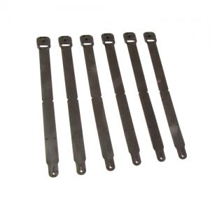 HSG Clip Long Color: Black Size: Long Quantity: Pack of 6