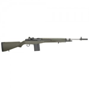 "Springfield M1A .308 Winchester 10-Round 22"" Semi-Automatic Rifle in Black - MA9109"