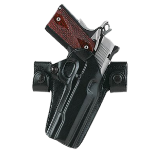 """Galco International Side Snap Scabbard Right-Hand Belt Holster for Sig Sauer P220, P226 in Black (4.4"""") - SSR248B"""