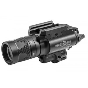 Surefire X400 Vampire Weaponlight, 350 Lumens, White/infrared Leds, Consumer Infrared Laser, Universal/picatinny Rail Mount, Z-xbc Push/toggle Switch, Black Finish X400v-b-irc