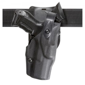 Safariland 6365 Low Ride ALS Right-Hand Belt Holster for Sig Sauer P229R in Black Basketweave (W/ ITI M3) - 6365-7442-81